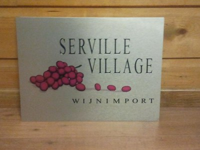 Aluminium bord Serville Village.jpg